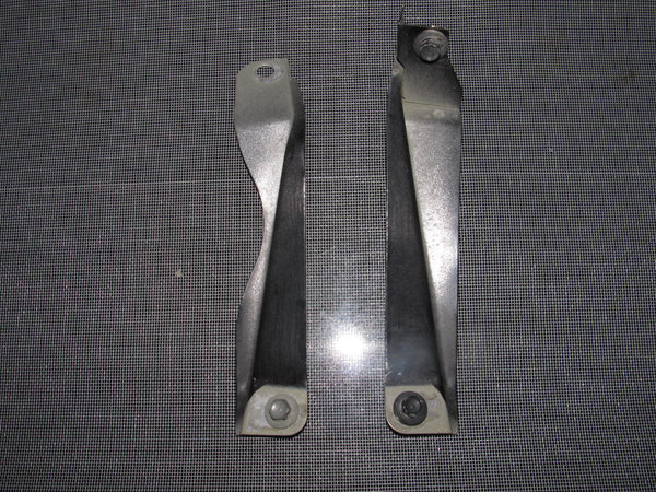 94-01 Acura Integra OEM Black Fender Mounting Bracket - Front Set - 2 pieces
