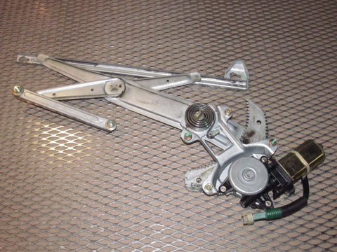 90 91 92 93 Acura Integra Coupe OEM Power Window Motor & Regulator - Left