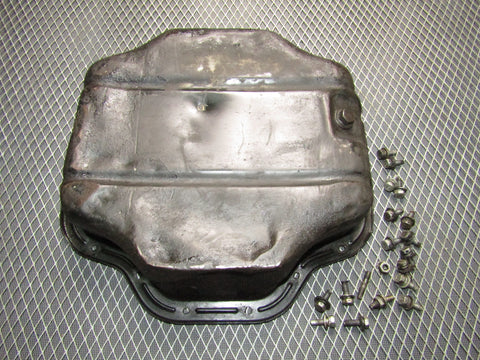 1991 Toyota Crown 2JZ-GE None VVti OEM Engine Oil Pan
