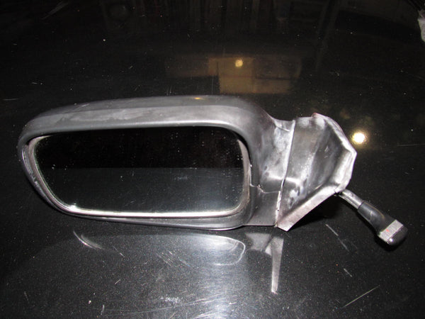 88-91 Honda CRX OEM Black Exterior Mirror- Left