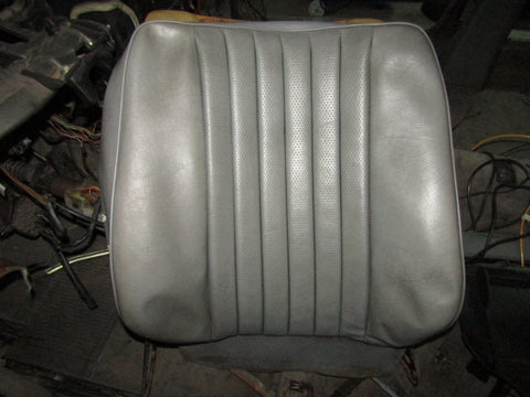 86-93 Mercedes Benz 300E OEM Front Back Seat Leather Skin Cover - Left