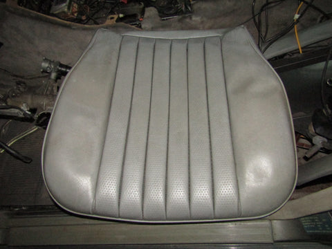 86-93 Mercedes Benz 300E OEM Front Bottom Seat Leather Skin Cover - Right