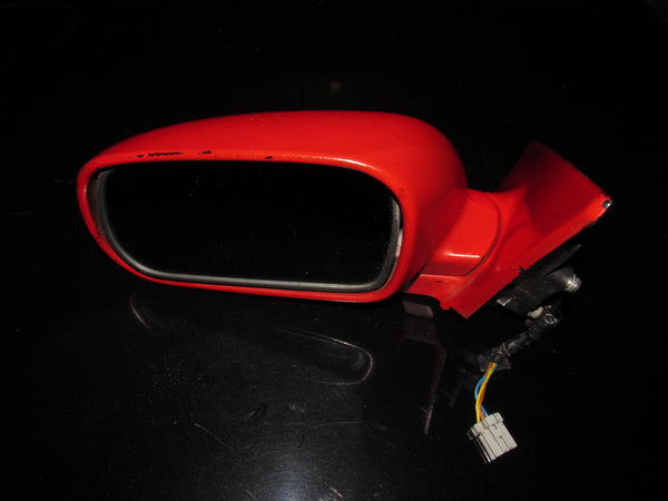 92-96 Honda Prelude OEM Red Mirror - Left