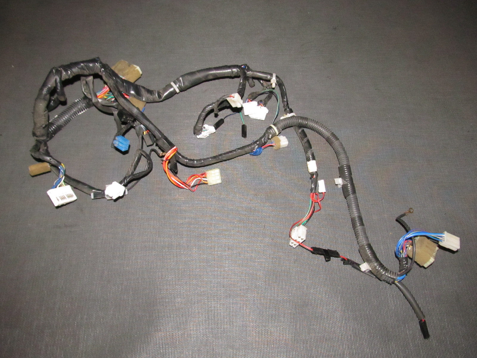 on dash wiring harness used