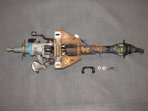 86 87 88 Toyota Supra 7M-GE OEM Steering Column with Key