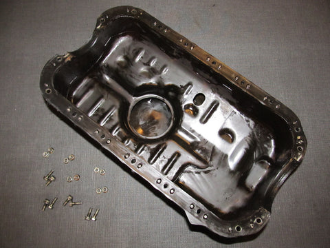 92 93 94 95 Honda Civic OEM D15B7 Engine Oil Pan