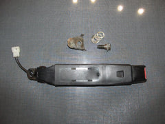 90-93 Miata OEM Seat Belt Buckle Receiver - Left - Black