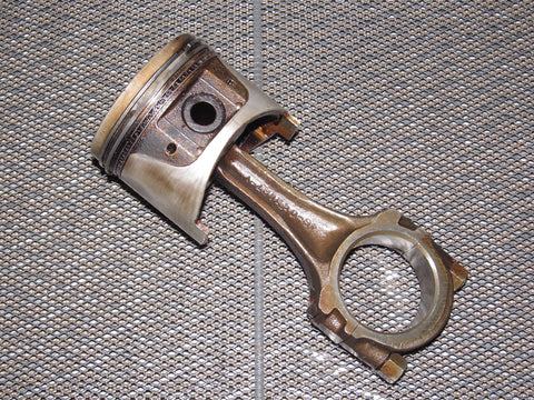 77 78 Datsun 280z OEM L28E Dish Piston & Connecting Rod - N42
