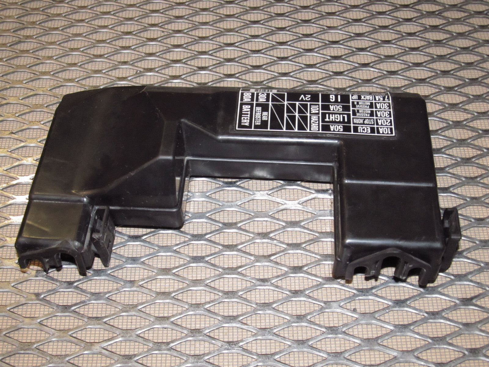 90 91 92 93 Acura Integra OEM Engine Fuse Box Cover – Autopartone.comAutopartone.com