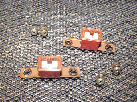 Honda & Acura Universal 50A Pal Fuse - Bent - Red