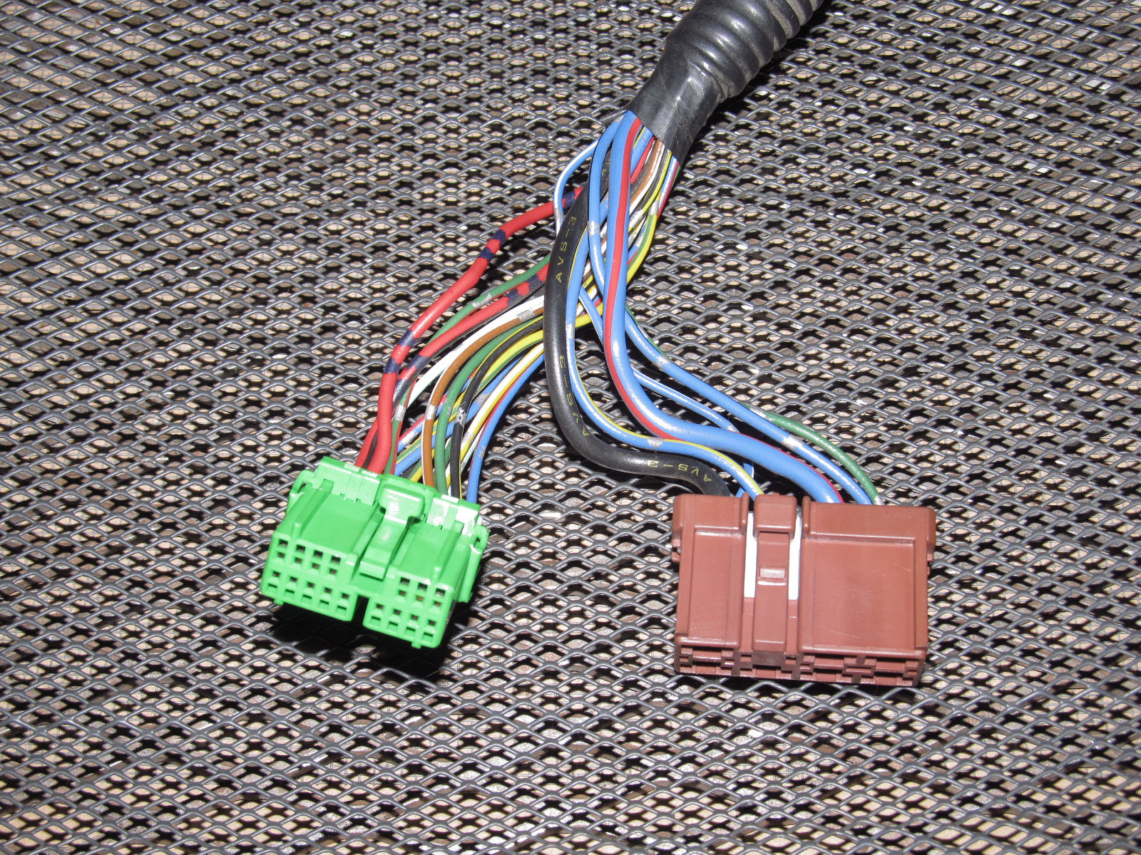 heater control wiring harness for 94 accord 92 93 94 95 96 honda prelude oem climate control pigtail harness  92 93 94 95 96 honda prelude oem