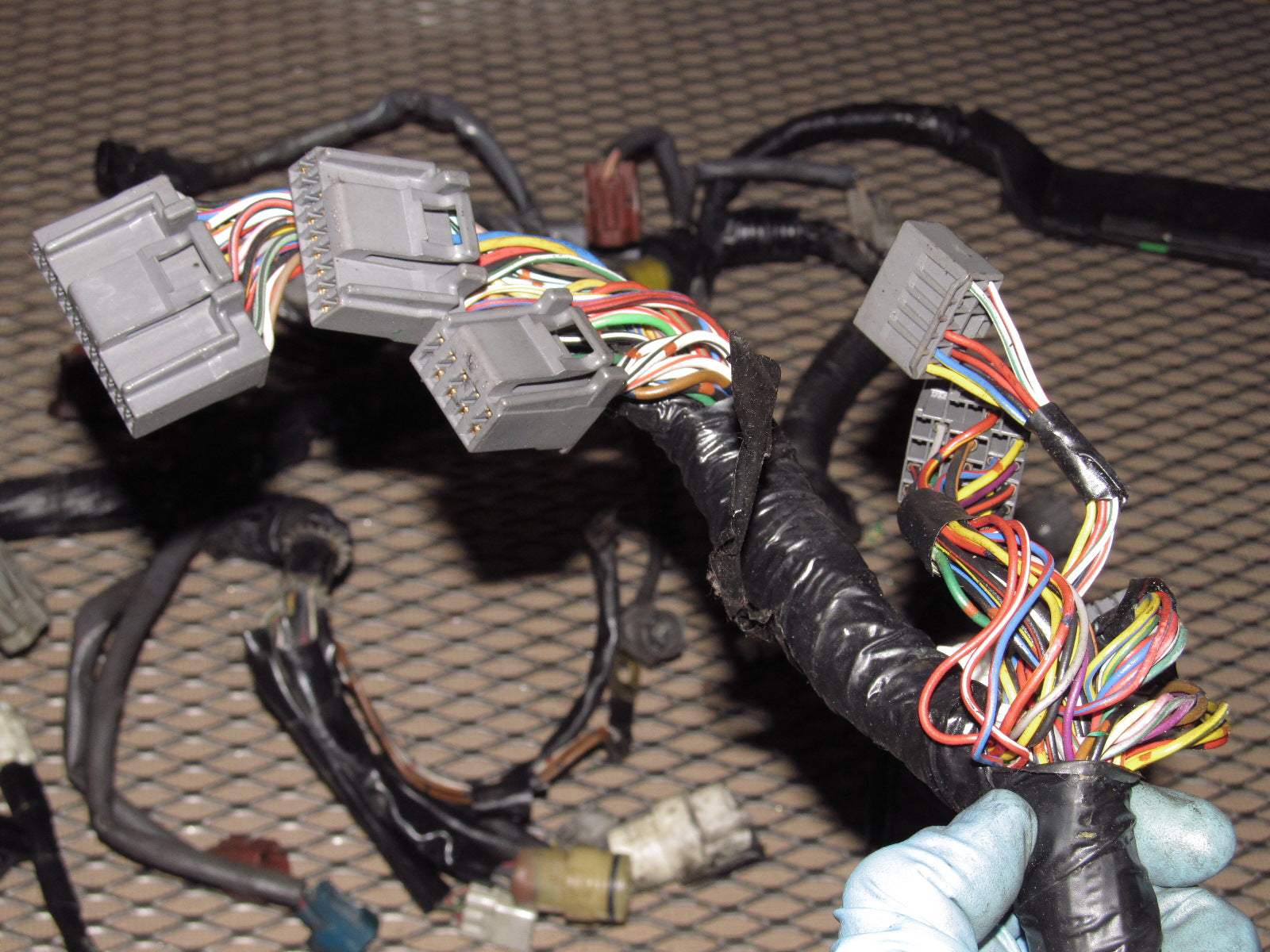 ... 89 90 91 92 Toyota Supra OEM Engine Wiring Harness - 7MGE A/T ...