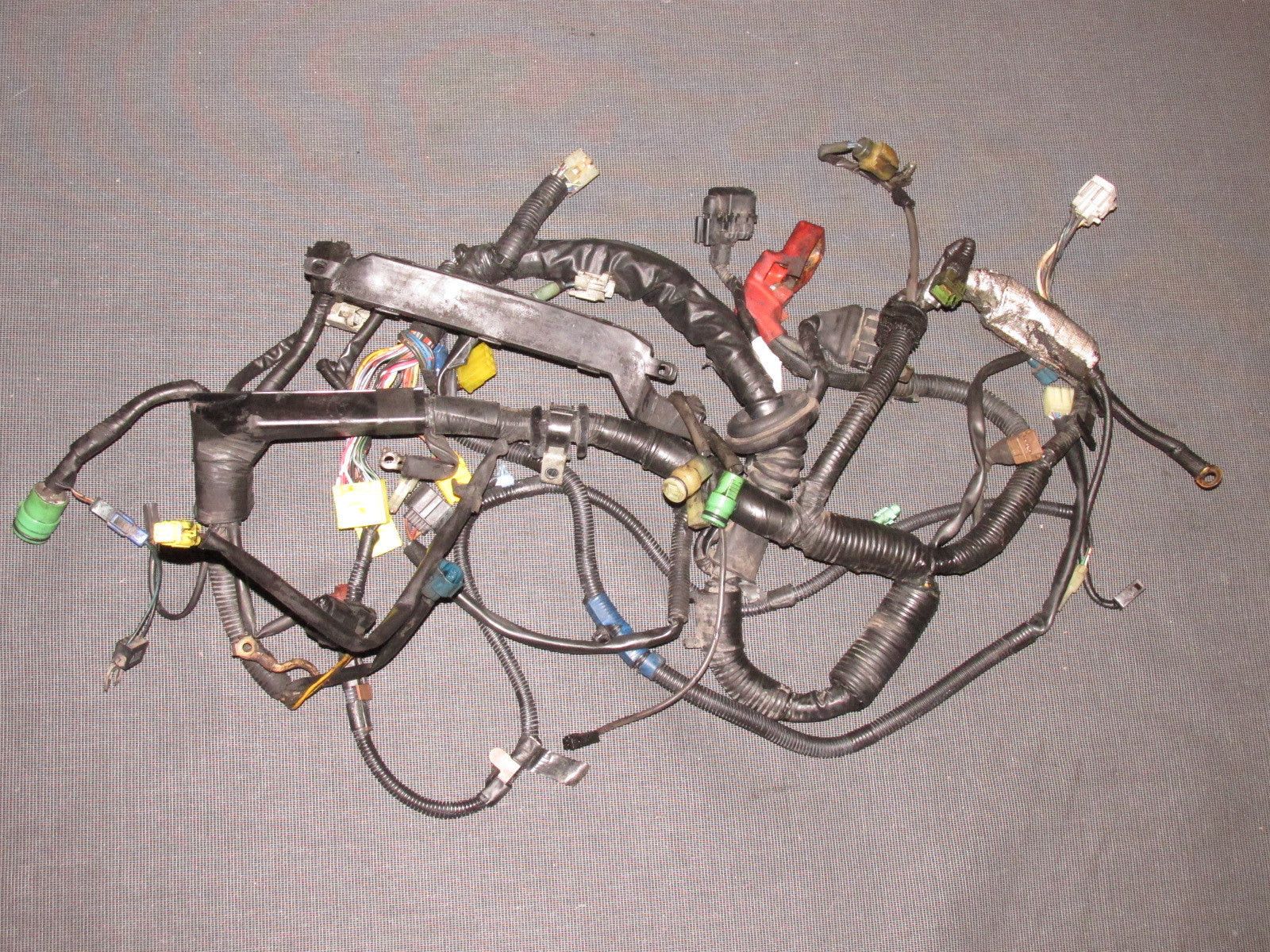 87 300zx Wiring Harness Diagram Library Toyota Supra 88 89 Mr2 Oem 4age Engine M T Radio