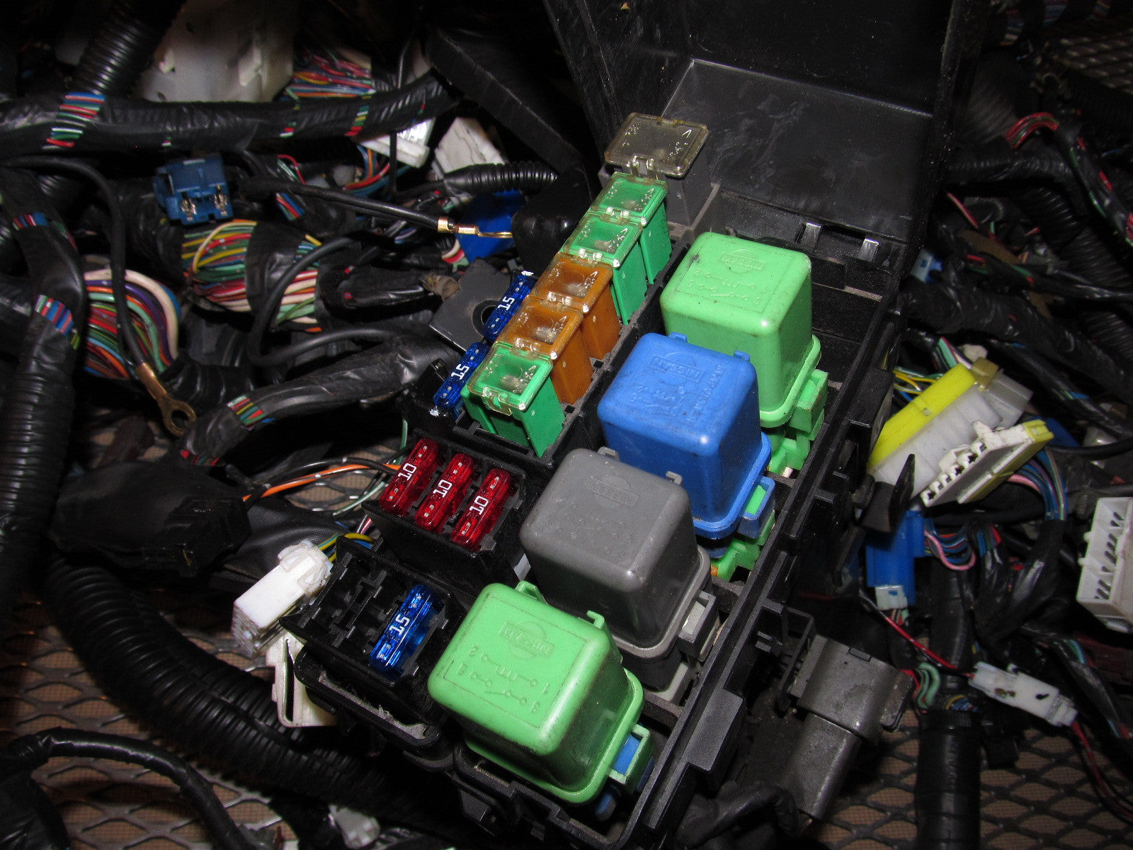 240sx battery fuse box 240sx fuse box wiring - wiring diagram negative battery fuse box nissan 240sx #1