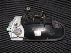 96-00 Honda Civic OEM Black Exterior Door Handle - Front Left