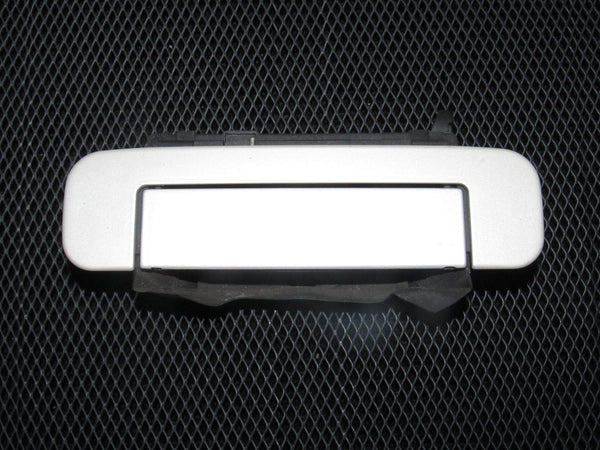 96-01 Audi A4 OEM Pearl White Exterior Door Handle - Rear Left