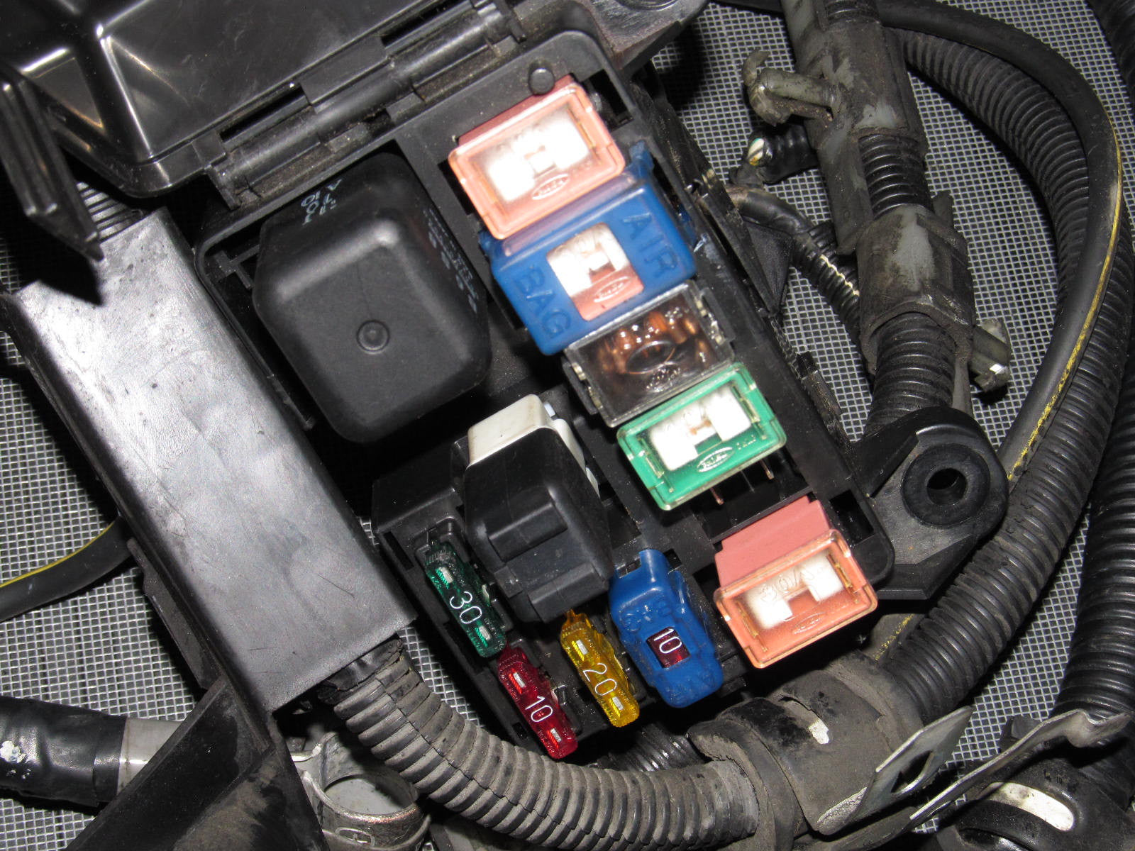 ... 90 91 92 93 Mazda Miata Fuse Box Transmission & Engine Wiring Harness