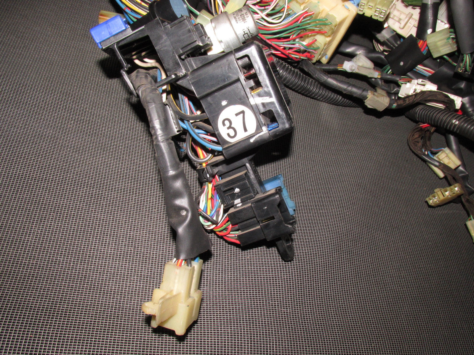 87 88 89 Toyota Mr2 Oem Dash Wiring Harness 4age M T