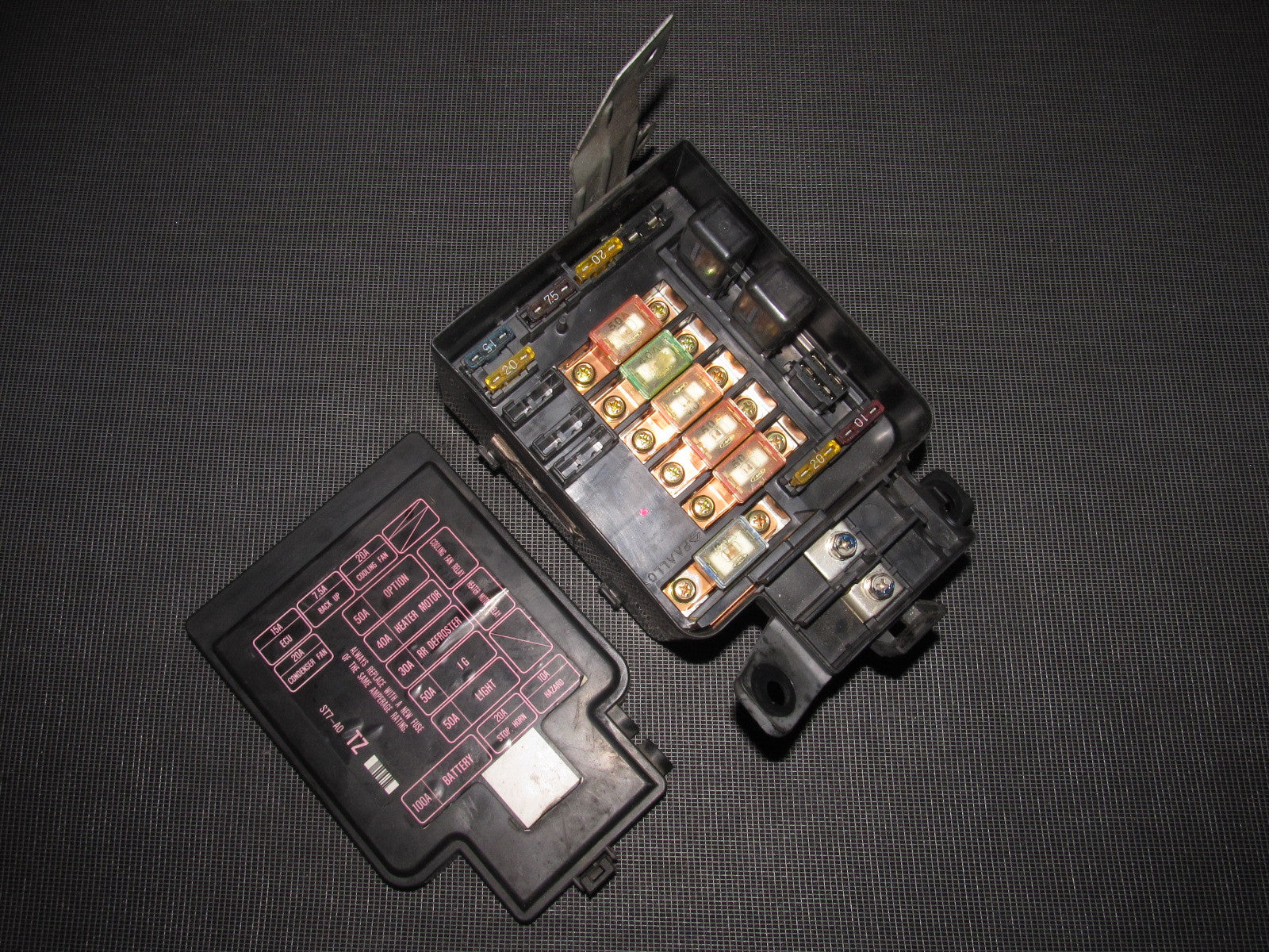 civic fuse diagram photo album diagram 96 01 acura integra oem engine fuse box b18b1 autopartone com