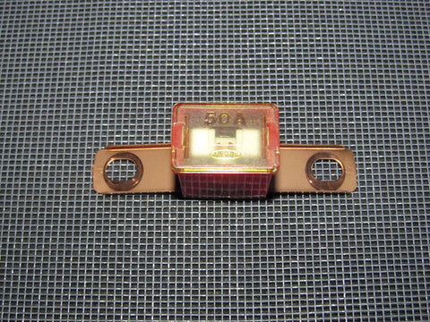 Honda & Acura Universal 50A Pal Fuse - 1 inch Bent - Red