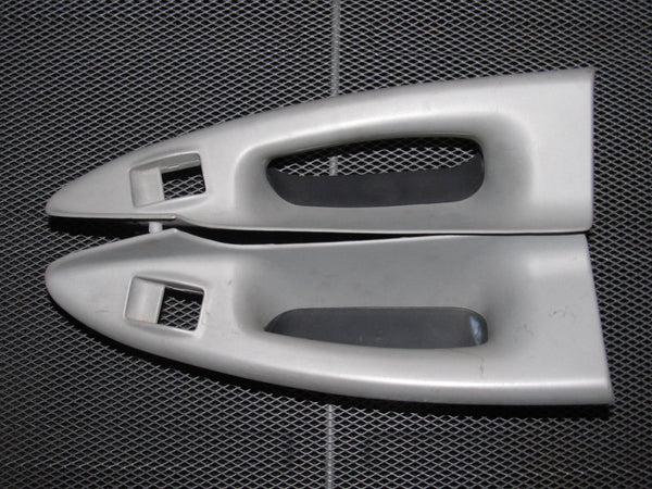 96-01 Audi A4 OEM Gray Interior Door Panel Handle - Rear Set