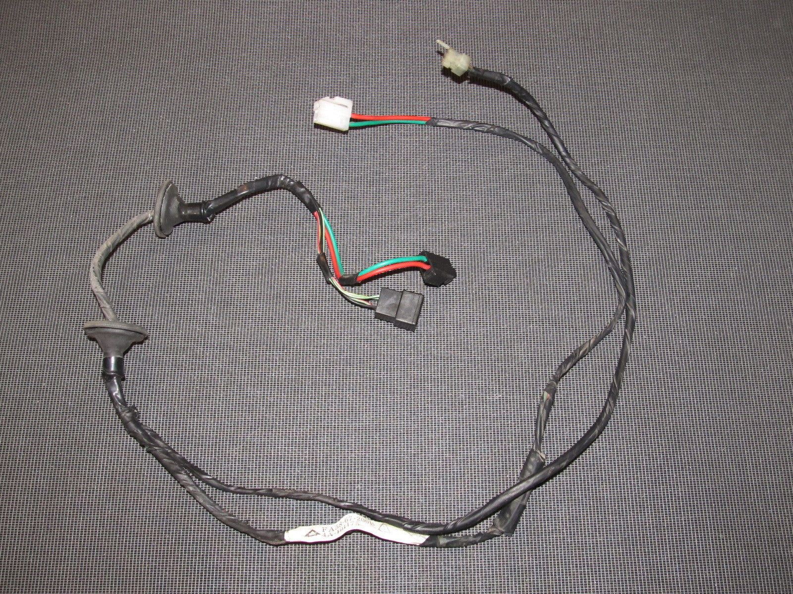 84 85 Mazda Rx7 Oem Door Wiring Harness Right
