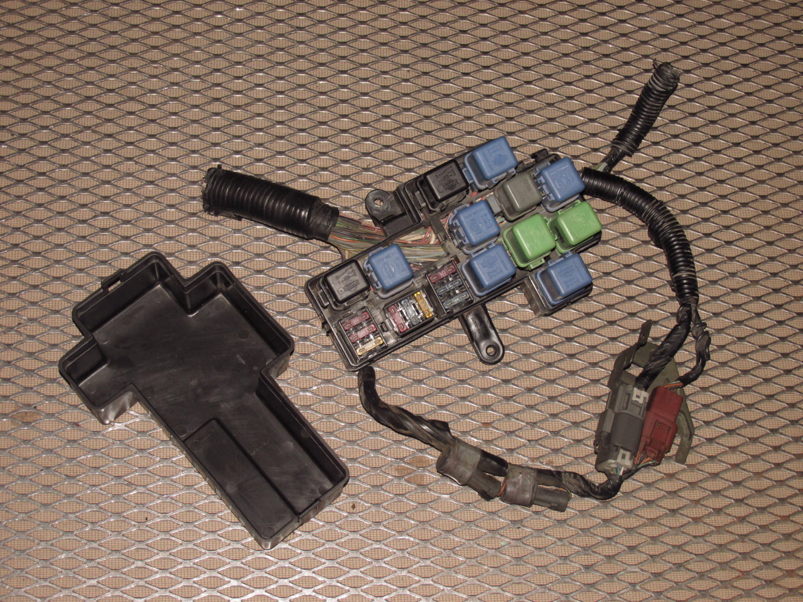 90 91 92 93 94 95 96 Nissan 300zx Oem Engine Fuse Relay Box Wiring