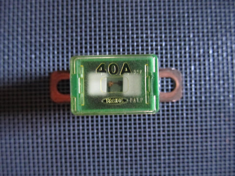 Universal 50A Pal Fuse - Green - 3/4 inch Bent