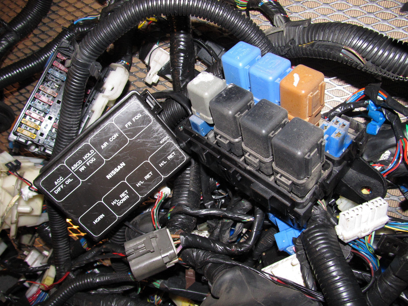 s13 240 fuse box wiring diagrams 1990 Nissan 240SX Headlight Assembly