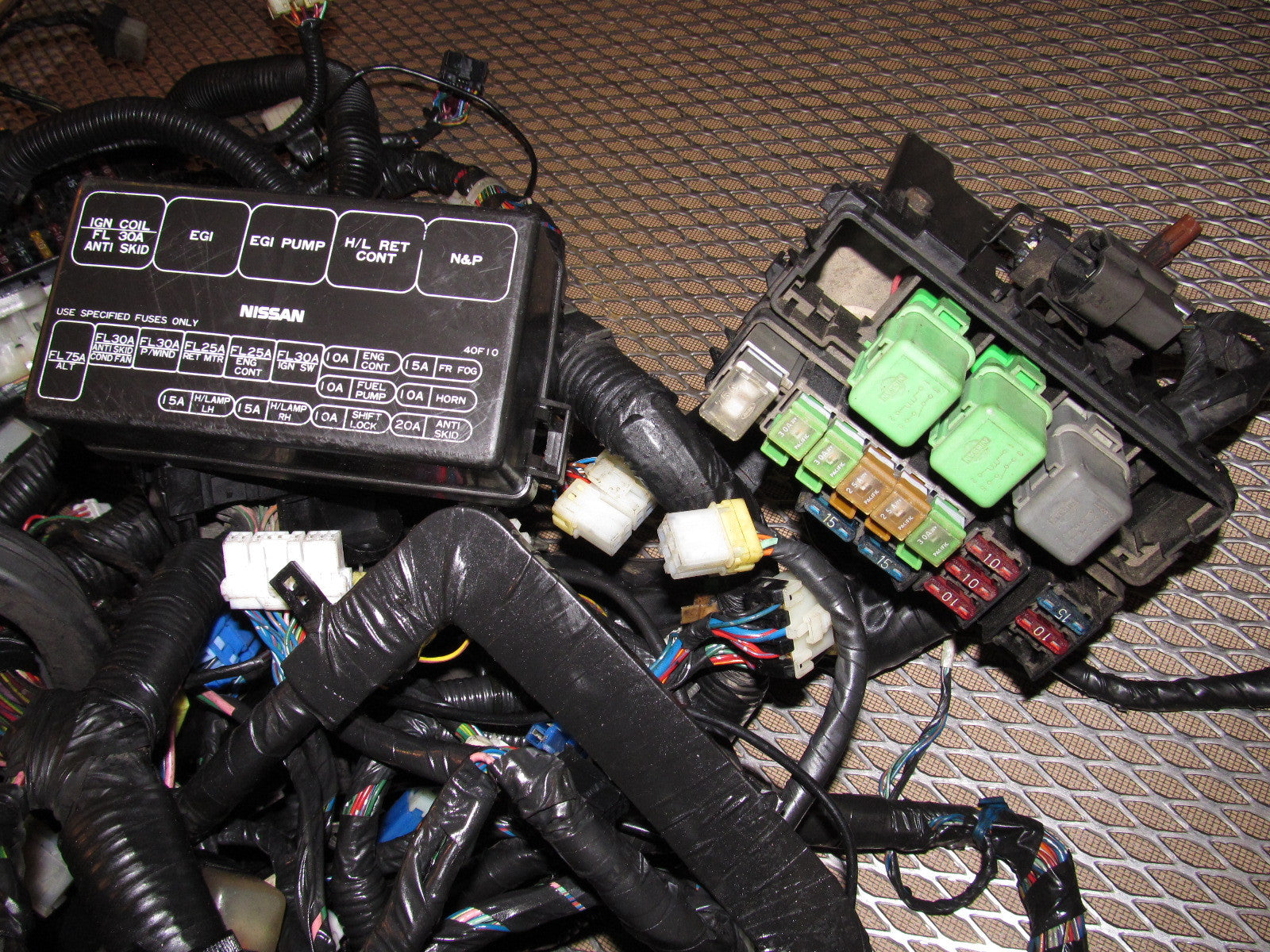 89 240sx Fuse Box - Wiring Diagram Fascinating on