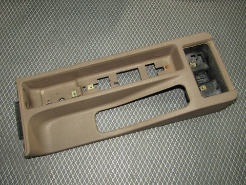 92 93 94 95 BMW 325 Sedan OEM Console Parking Brake Handle Panel Cover