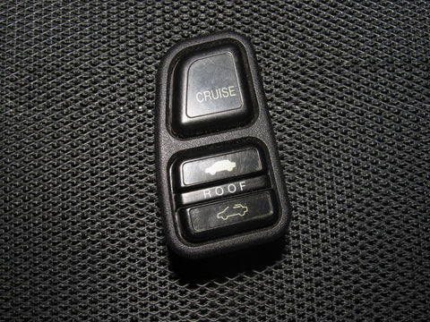 88 89 90 91 Honda Prelude OEM Cruise & Sunroof Switch
