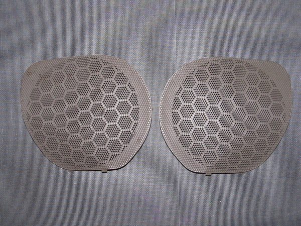 96-00 Honda Civic OEM Brown Speaker Grille - Front Set