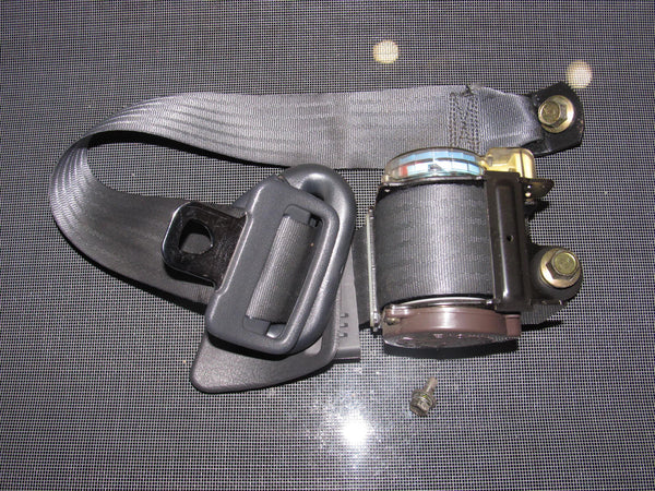 90-93 Toyota Celica OEM Gray Seat Belt - Rear Right