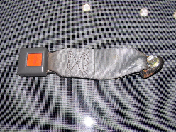 86.5-88 Toyota Supra OEM Gray Seat Belt Buckle - Rear Right