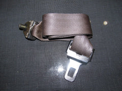 96-00 Honda Civic OEM Brown Seat Belt - Rear Center