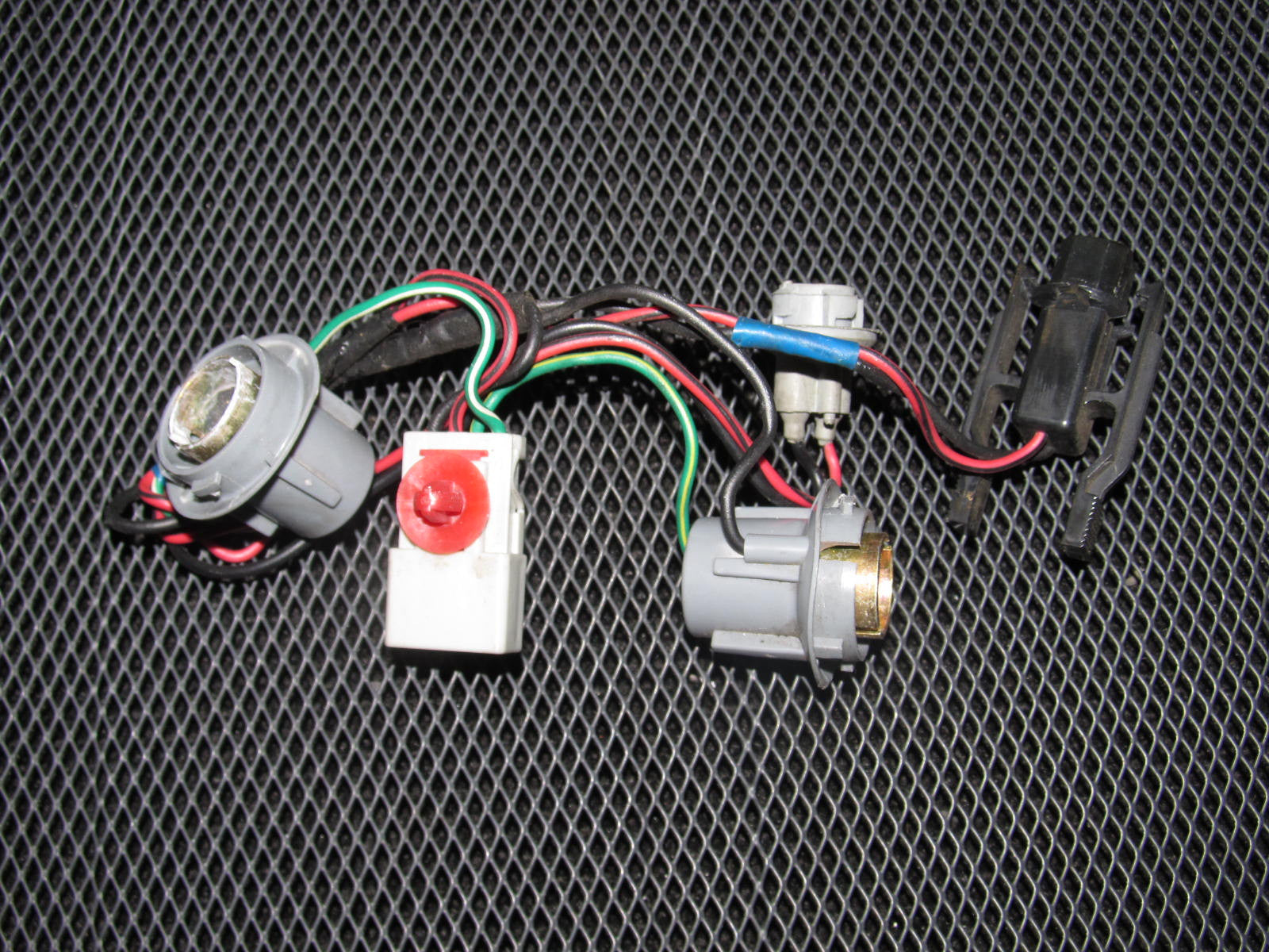 88 91 Honda Crx Oem Tail Light Bulb Socket Harness Wiring