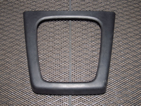 89 90 91 Mazda RX7 OEM Center Console Shifter Cover Bezel Panel - M/T