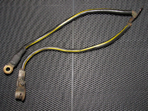 89 90 91 92 93 94 Nissan 240SX OEM Battery Cable - Negative