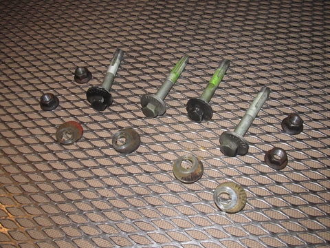 99 00 Mazda Miata OEM Alignment Camber Bolts - Front Set