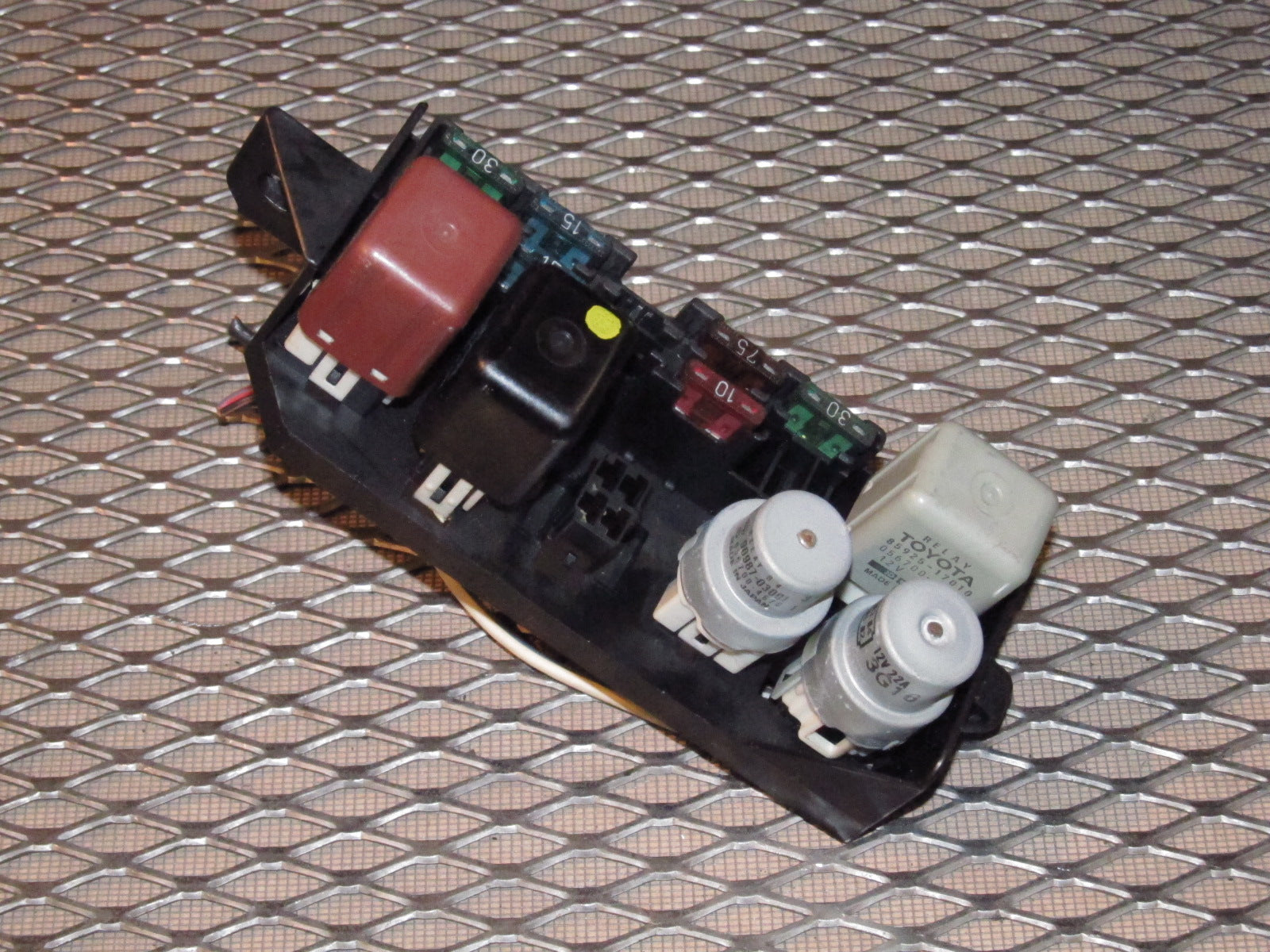 87 88 89 Toyota Mr2 Oem Interior Front Hood Fuse Box