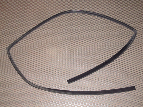 89 90 91 Mazda RX7 OEM Door Window Guide Weather Stripping Rubber Seal - Right