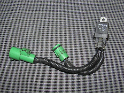 88 89 90 91 Honda CRX OEM A/C Condenser Fan Harness & Relay
