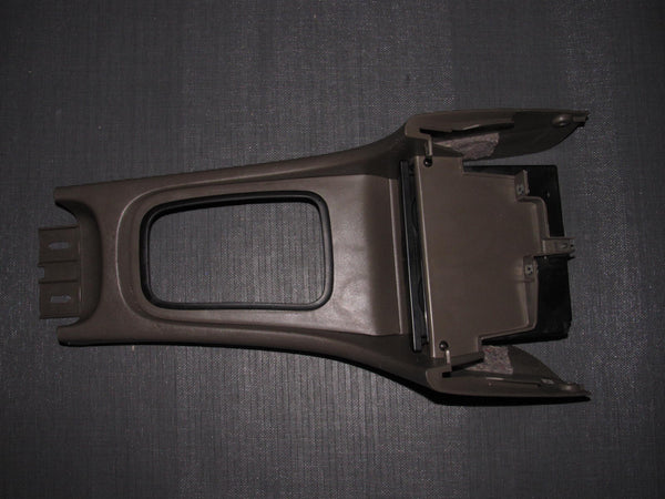 94-01 Acura Integra OEM Brown Console Shifter Panel - Automatic Transmission