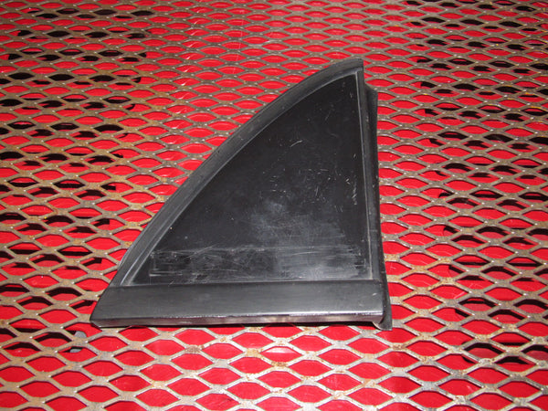88 89 Honda CRX OEM Exterior Rear Corner Triangular Trim Finish Cover - Left