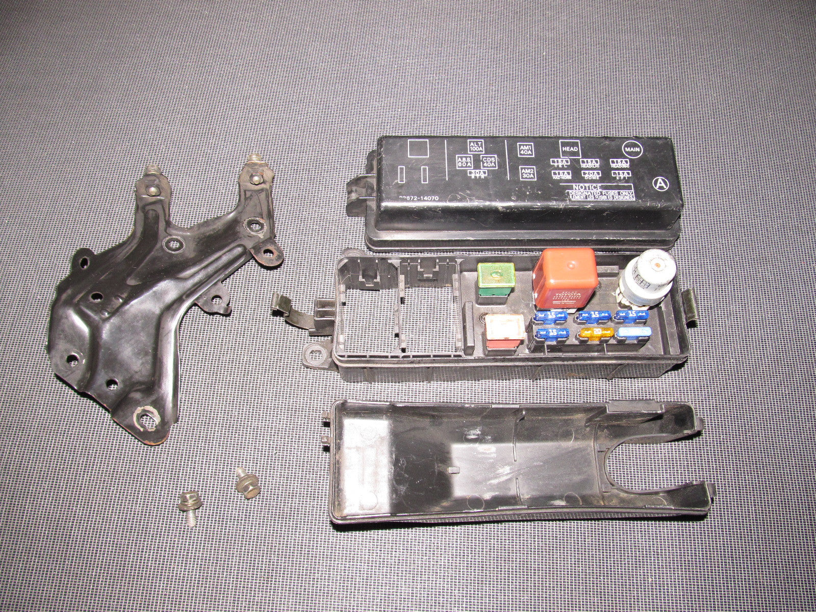 1990 Toyota Red Celica Fuse Box Diagram