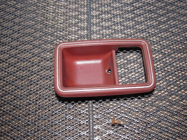 79 80 Datsun 280zx OEM Interior Door Handle Bezel Trim - Right