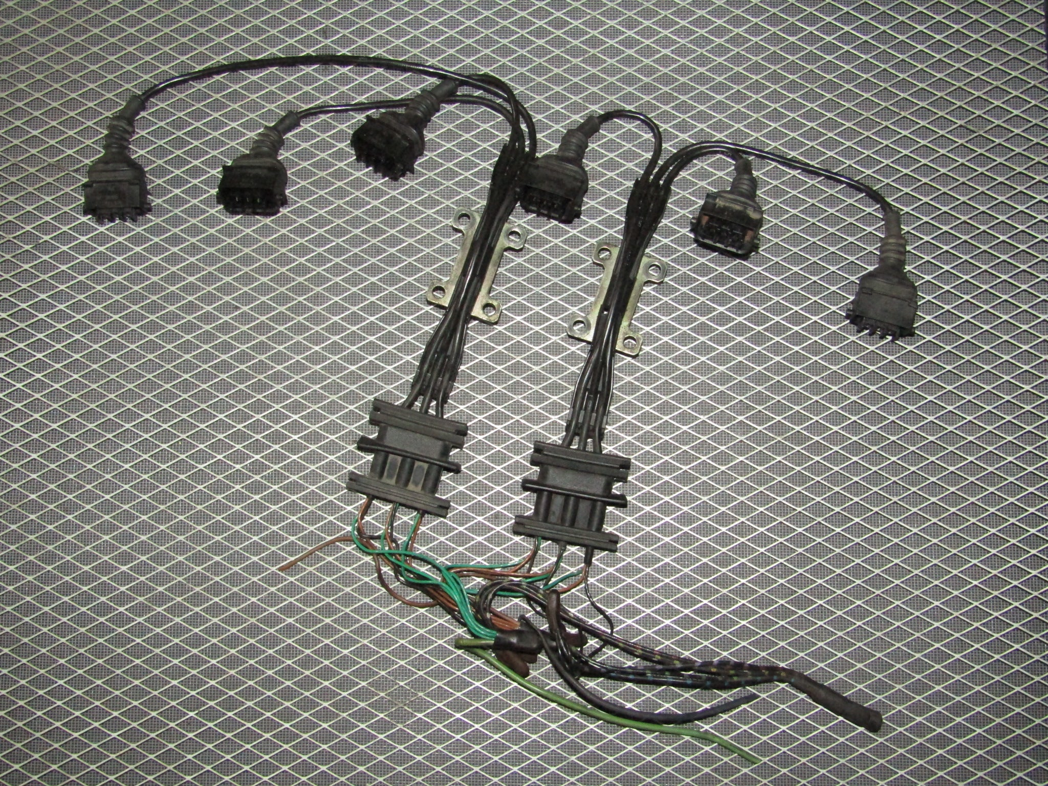92 93 94 95 bmw 325 oem ignition coil wiring harness - 2 5l