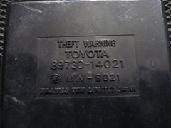 86.5-88 Toyota Supra OEM Theft Warning Control Unit 89730-14021