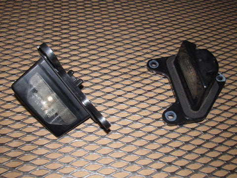 1988 Mazda RX7 OEM Convertible Rear License Plate Light Set